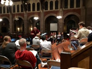 Chicago Chorale Rehearsal