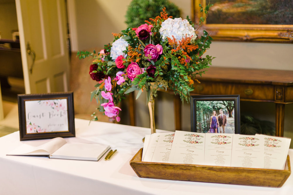 spring bouquet and guest book.jpg