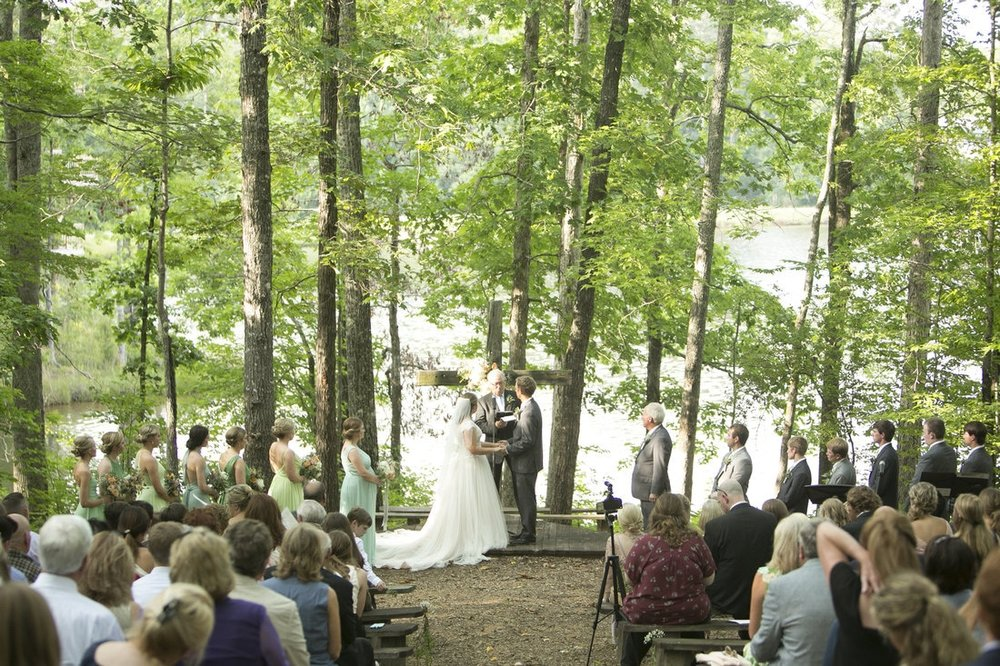 wedding ceremony with trees.jpg