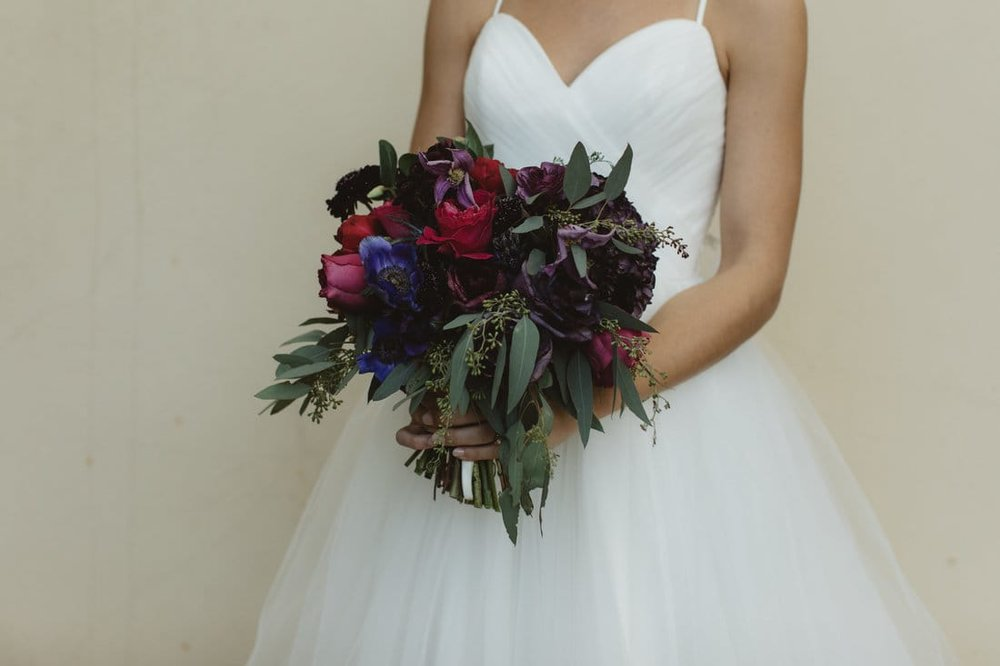 dark wedding bouquet with pink and red .jpg