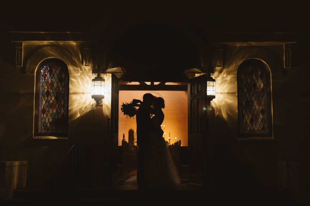 silhouette of bride and groom.jpg