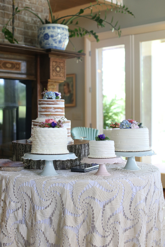 wedding cake with simple flowers.jpg
