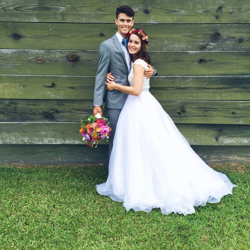 "June 27,2015- a day that will not be forgotten. Erin anad I (Bethany) are still so humbled and honored to have been a part of the wedding of John Luke Robertson & Mary Kate McEacharn, and we are SO appreciative of the support shown by our community and friends as the episode aired on tv. Wow. What an experience! We would like to share a little of the story with you guys-be warned... this may take a while to get in all the ""thank yous."""