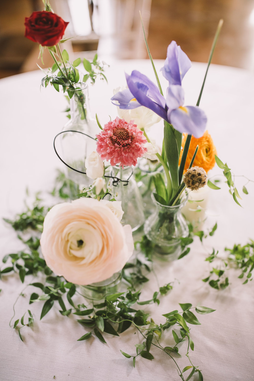 organic-centerpieces-luxury-mississippi-bohemian-wedding