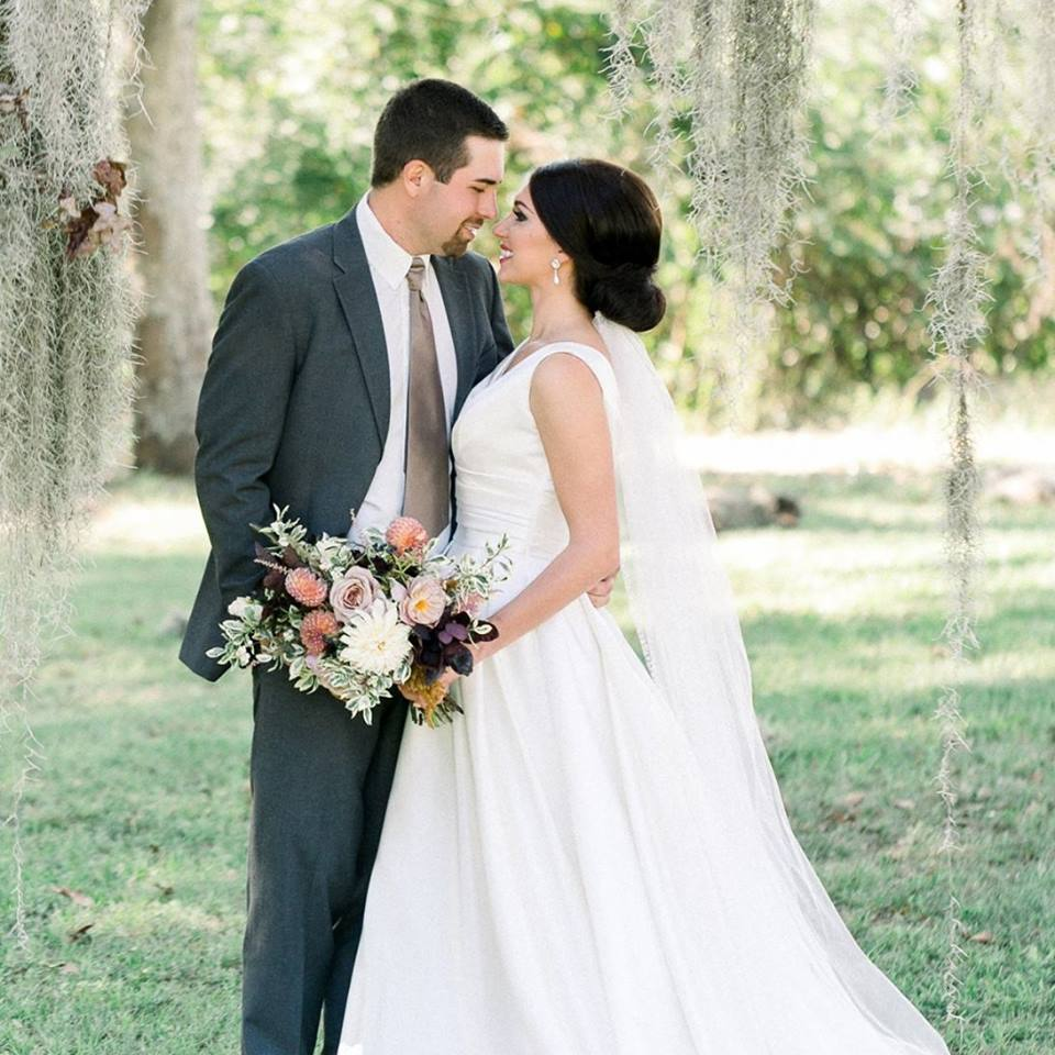Outdoor-wedding-mississippi-under-the-trees