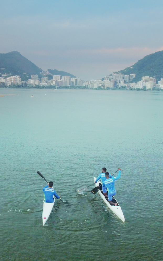 YEAR 2 (2016)  Focusing on GE's sponsorship of the Rio 2016 Olympics, we created a week of live-streamed content behind the scenes of the Games broadcast from Olympic facilities around the city. We pioneered HD video streaming directly from Drone to the Web, breaking audience records on Facebook Live.