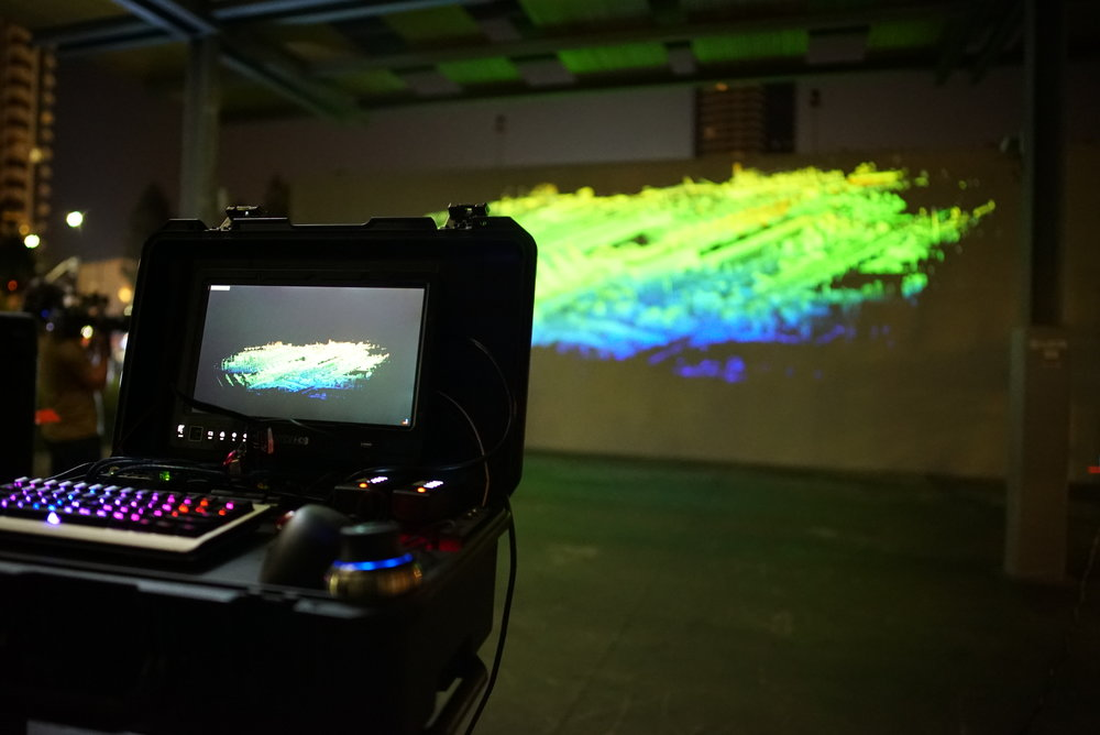 LiDAR Projection Mapping
