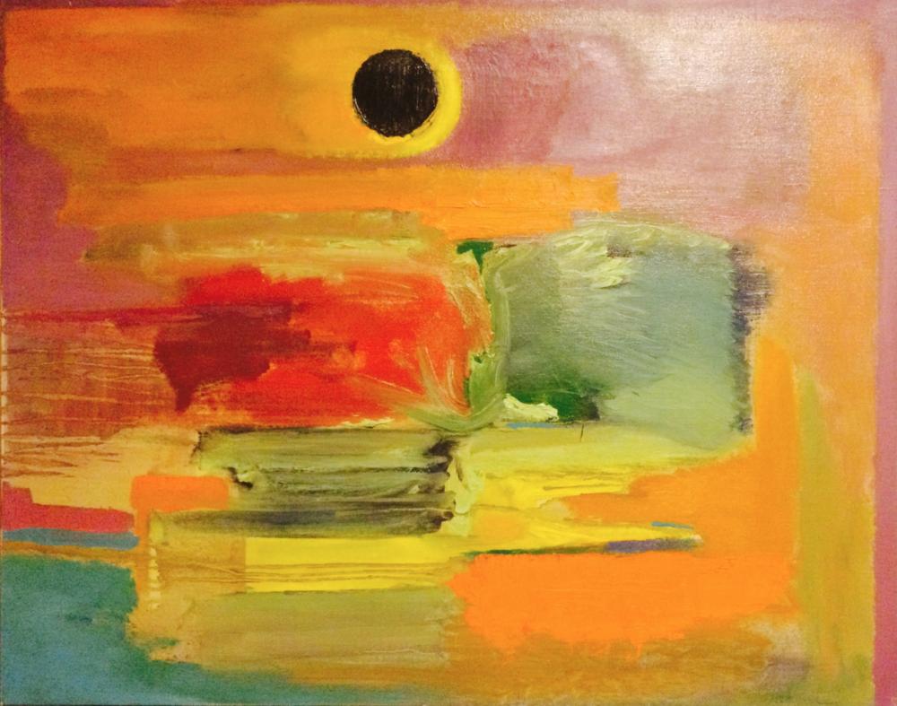 Black Sun, 2015 (SOLD)