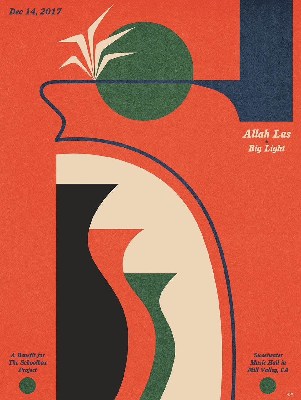 Allah-Las & Big Light Benefit 12/14/17 @ Sweetwater Music Hall Mill Valley, CA