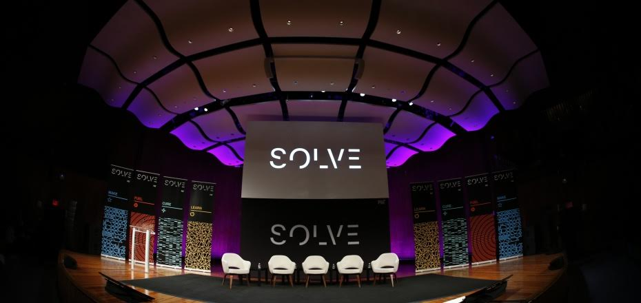 About to take the stage at SOLVE at MIT Flagship Event.