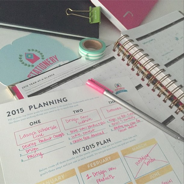 2015 Planning Worksheet