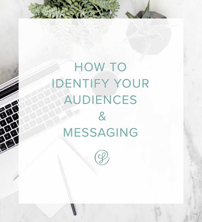 How To Identify Your Audiences and Messaging