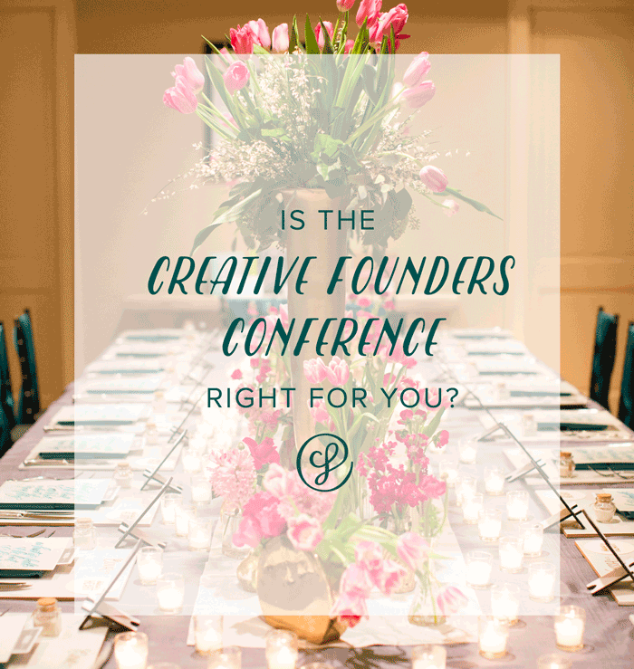 Jon us for a webinar to see if the Creative Founders Conference is right for you!