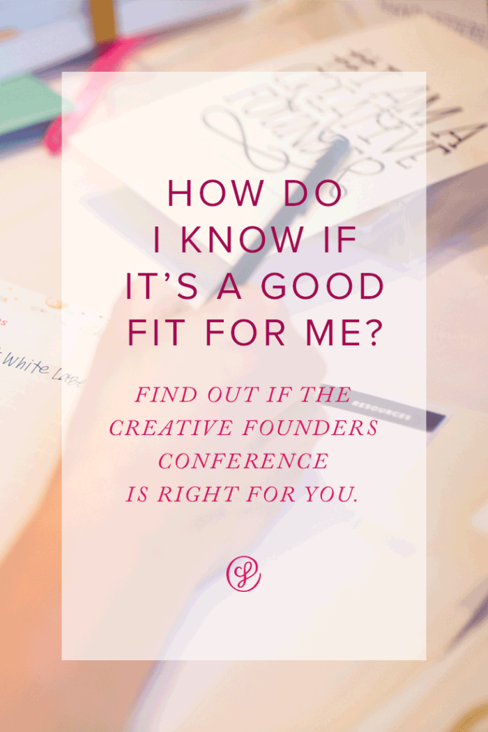 How do I know the Creative Founders Conference is a good fit for me? Join our Webinar on Tuesday, October 10 and find out!