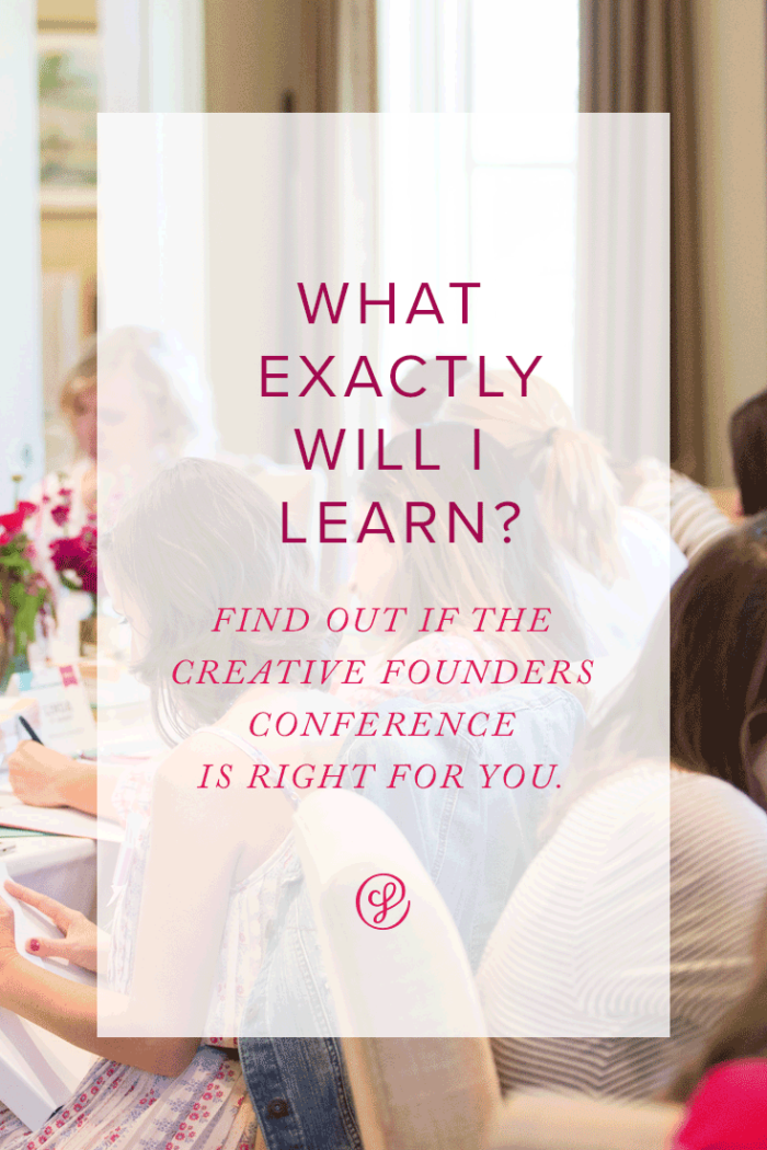 What will I learn? Join our webinar to find out more about the Creative Founders Conference