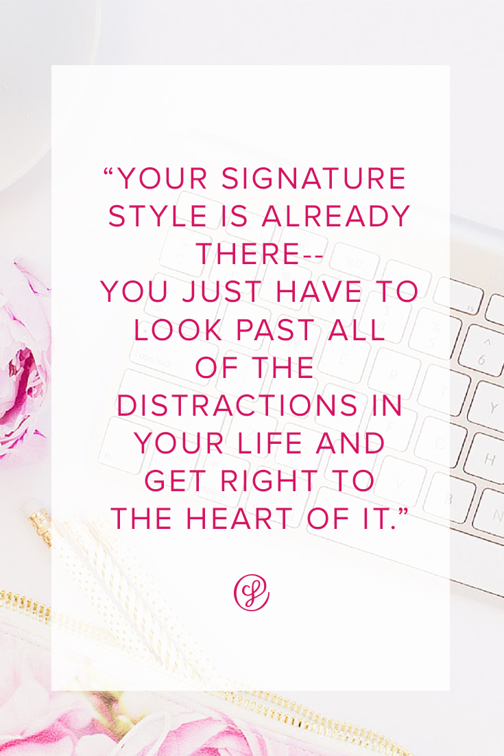 How to find your signature style to make your brand truly unique and timeless!