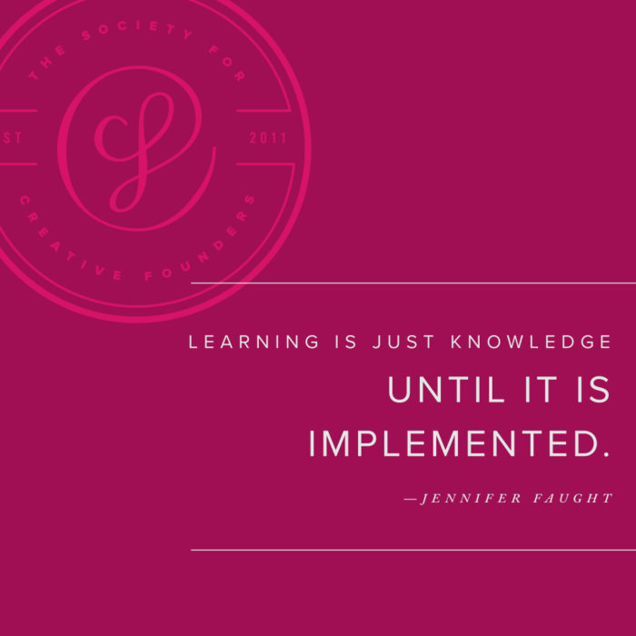 Learning is Just Knowledge Until It Is Implemented