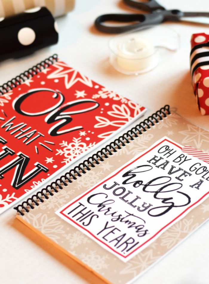 Christmas Planner by Cara McGrady of One Swell Studio
