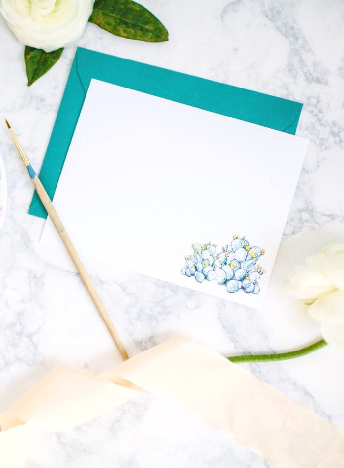 Hand Painted Illustrations and Personalized Stationery by Pearly Gates Designs