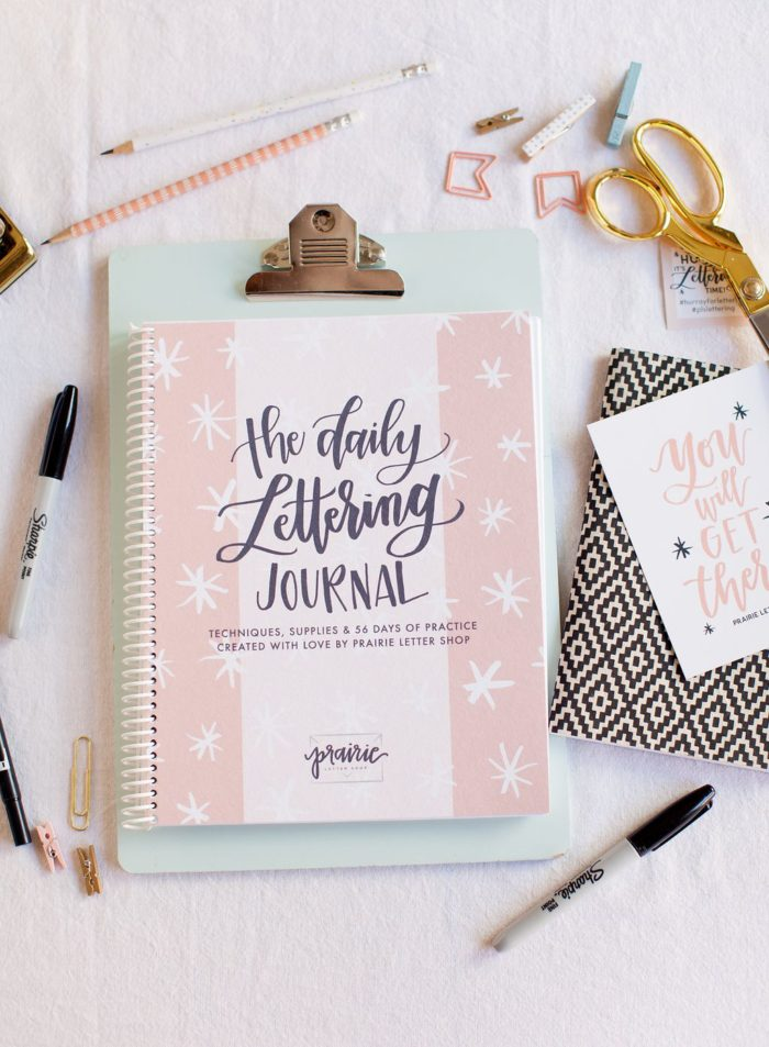 Prairie Letter Shop Daily Lettering Journal