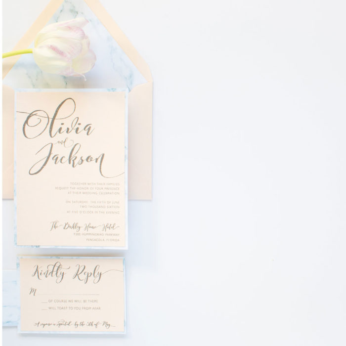 Wedding Invitation Suite from Grace & Serendipity