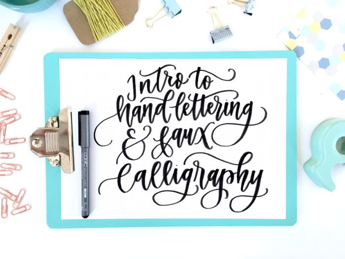 Hand Lettering by Lisa Funk of Hand Lettered Design