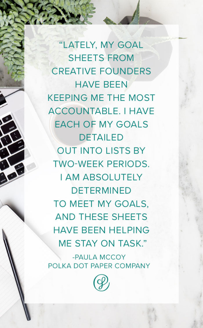 Productivity Tips & Habits from Paula McCoy of Polka Dot Paper Company