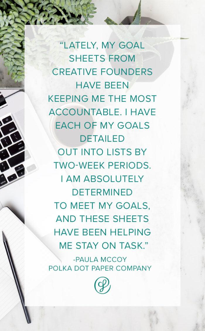 Productivity Tips & Habits from Paula McCoy of Polka Dot Paper Company