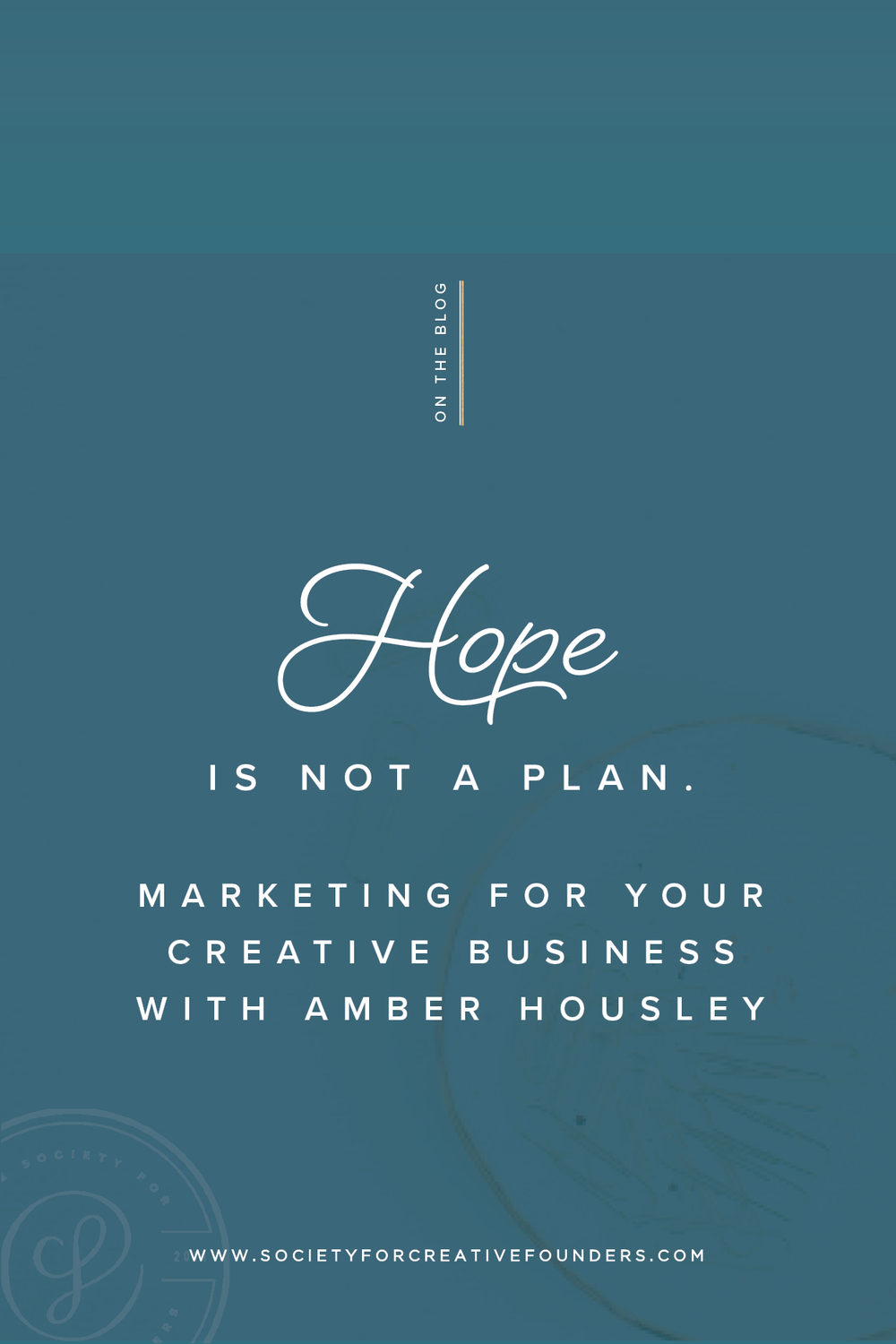 Marketing for your Creative Business with Amber Housley, a Guest Post about the Creative Founders Conference
