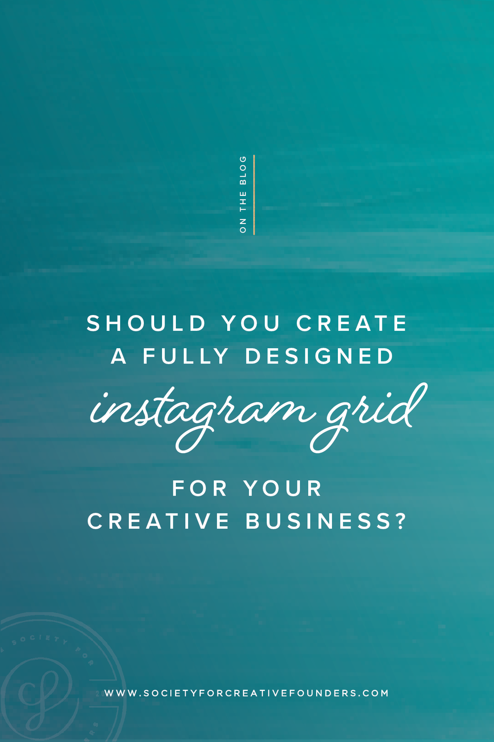 Should you Create an Instagram Grid for your creative business? Our experience shared.