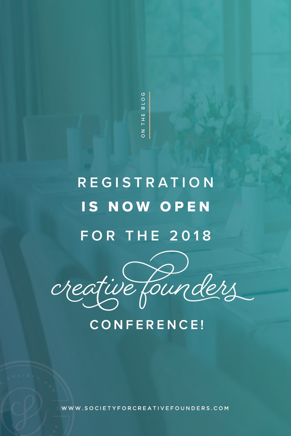 Creative Founders Conference 2018 - Registration is Now Open!