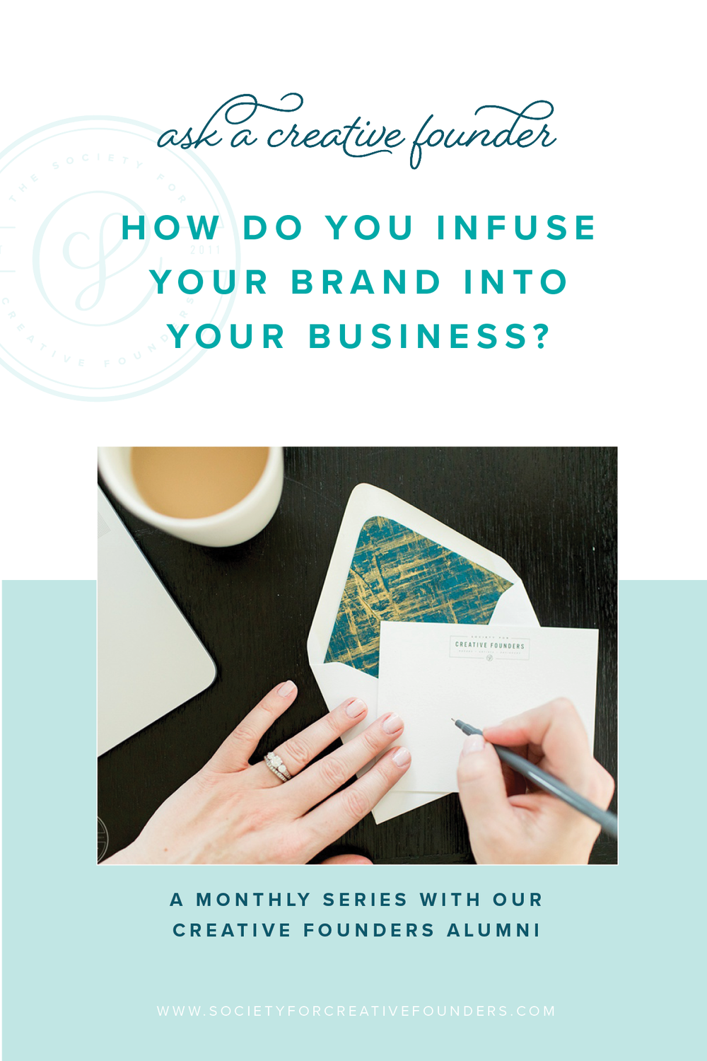 How to infuse your brand throughout your business - Ask A Creative Founder