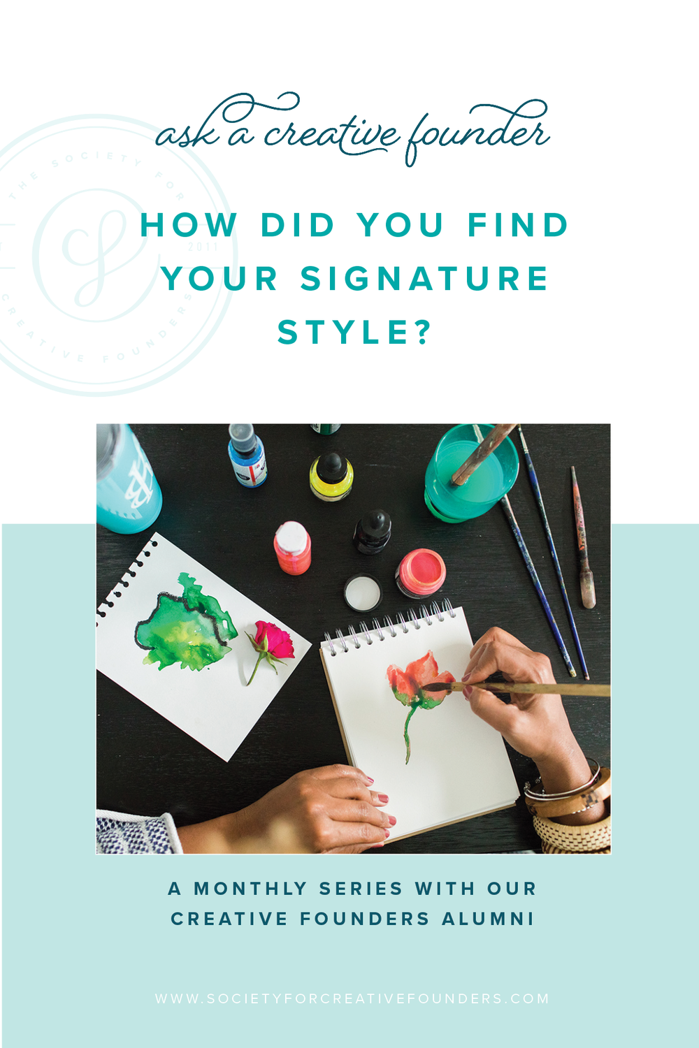 Ask a Creative Founder - How Did You Find Your Signature Style?
