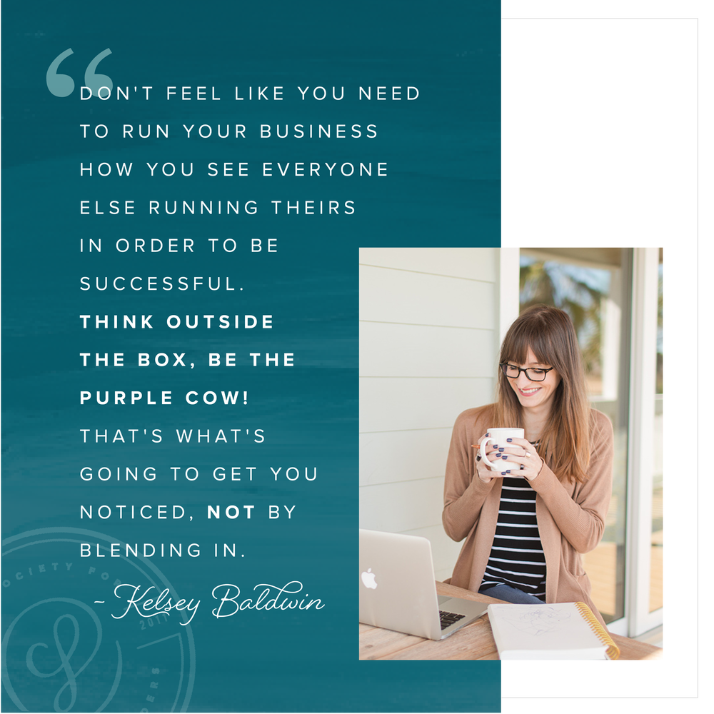 Kelsey Baldwin of Paper and Oats for Society for Creative Founders