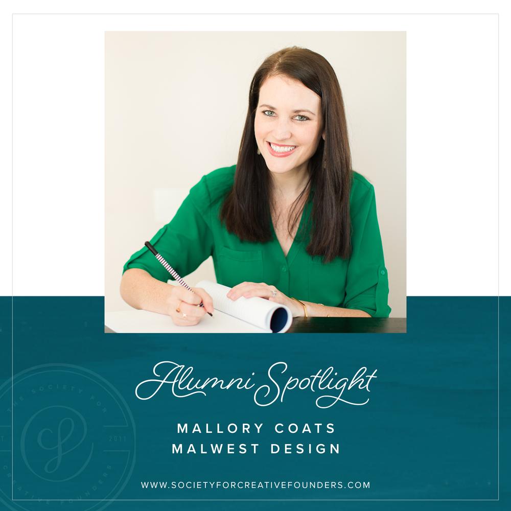 Mallory Coats of MalWest Design - Alumni Spotlight