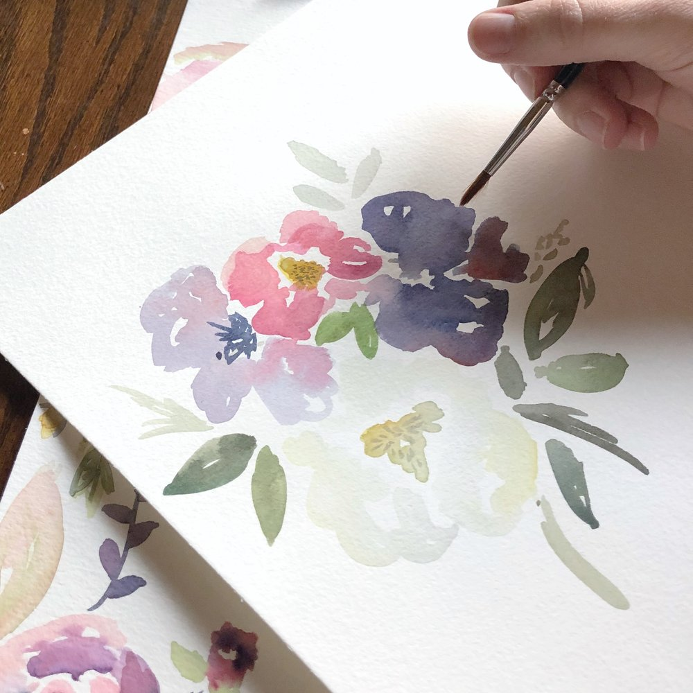 Mallory Coats of Malwest Design - Watercolor Painting