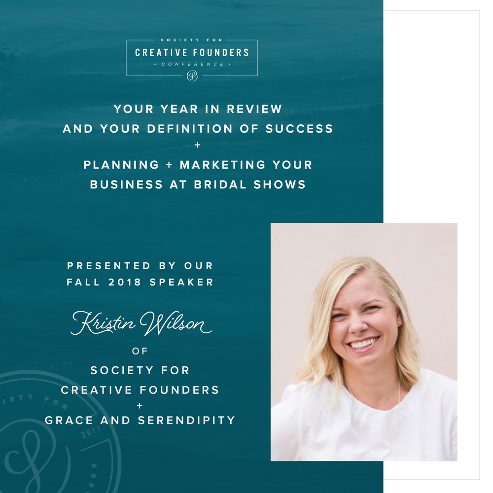 2018 Creative Founders Conference Speaker Kristin Wilson
