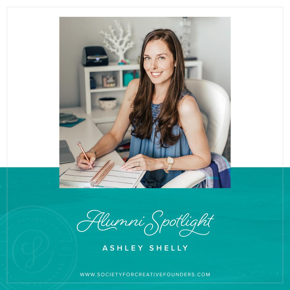 Ashley Shelly - Society for Creative Founders Alumni Spotlight