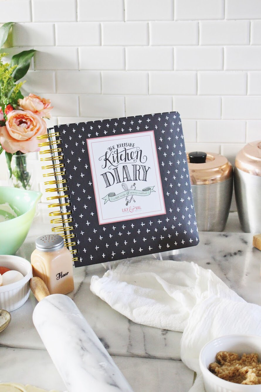 Keepsake Kitchen Diary by Valerie McKeehan of Lily and Val