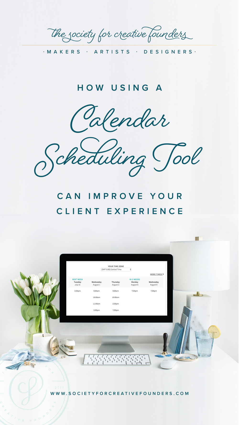 Acuity as a Calendar Scheduling Tool to Improve Productivity and Client Experience