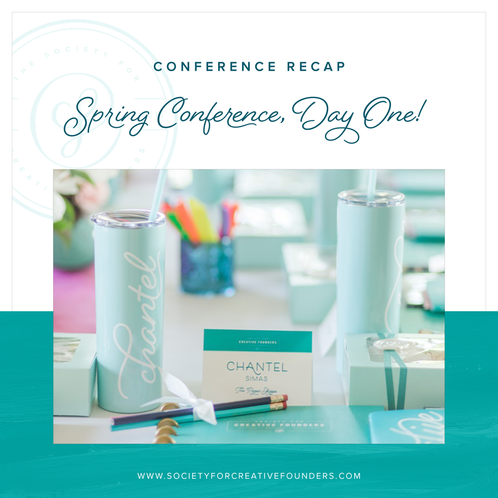 Society for Creative Founders Spring Conference Recap, Day One
