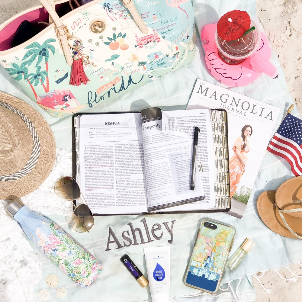 Ashley Victoria - Example of styled images for Social Media