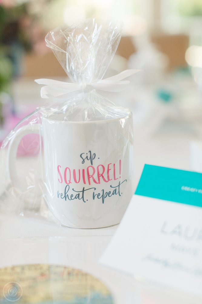 Sip, Squirrel, reheat, repeat Mug by Make Her Social Spring Creative Founders Conference, Day 3 Recap