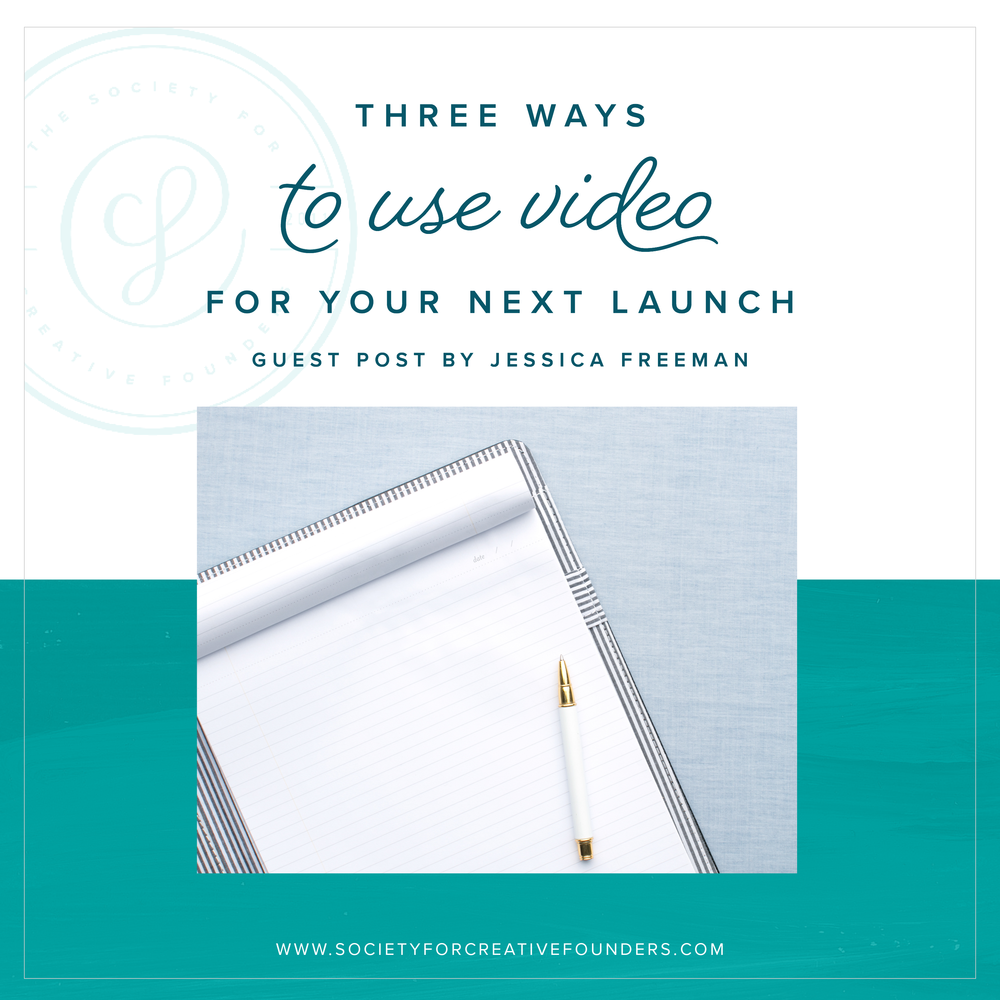 Three Ways to Use Video as a Part of a Launch
