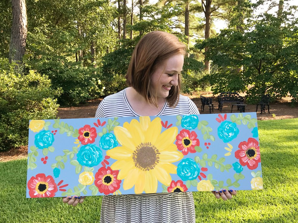 Featured Artist - Sarah Roberson of The Redheaded Camel