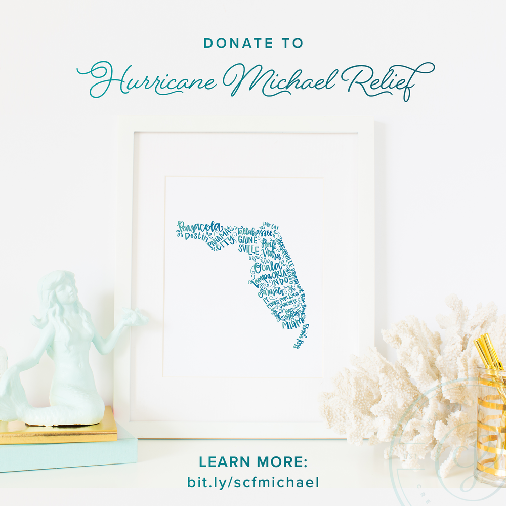 Hurricane Michael Relief Fundraiser - Creative Founders