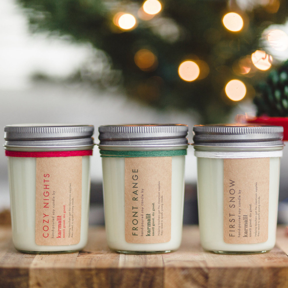 Home for the Holidays Candle Set - KarmaLit