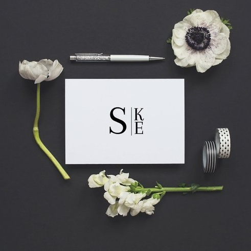 Personalized Monogram Stationery Set - Invited by LaMa Works