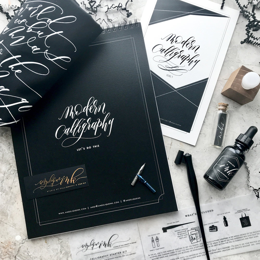 Calligraphy Starter Kit - Angelique Ink