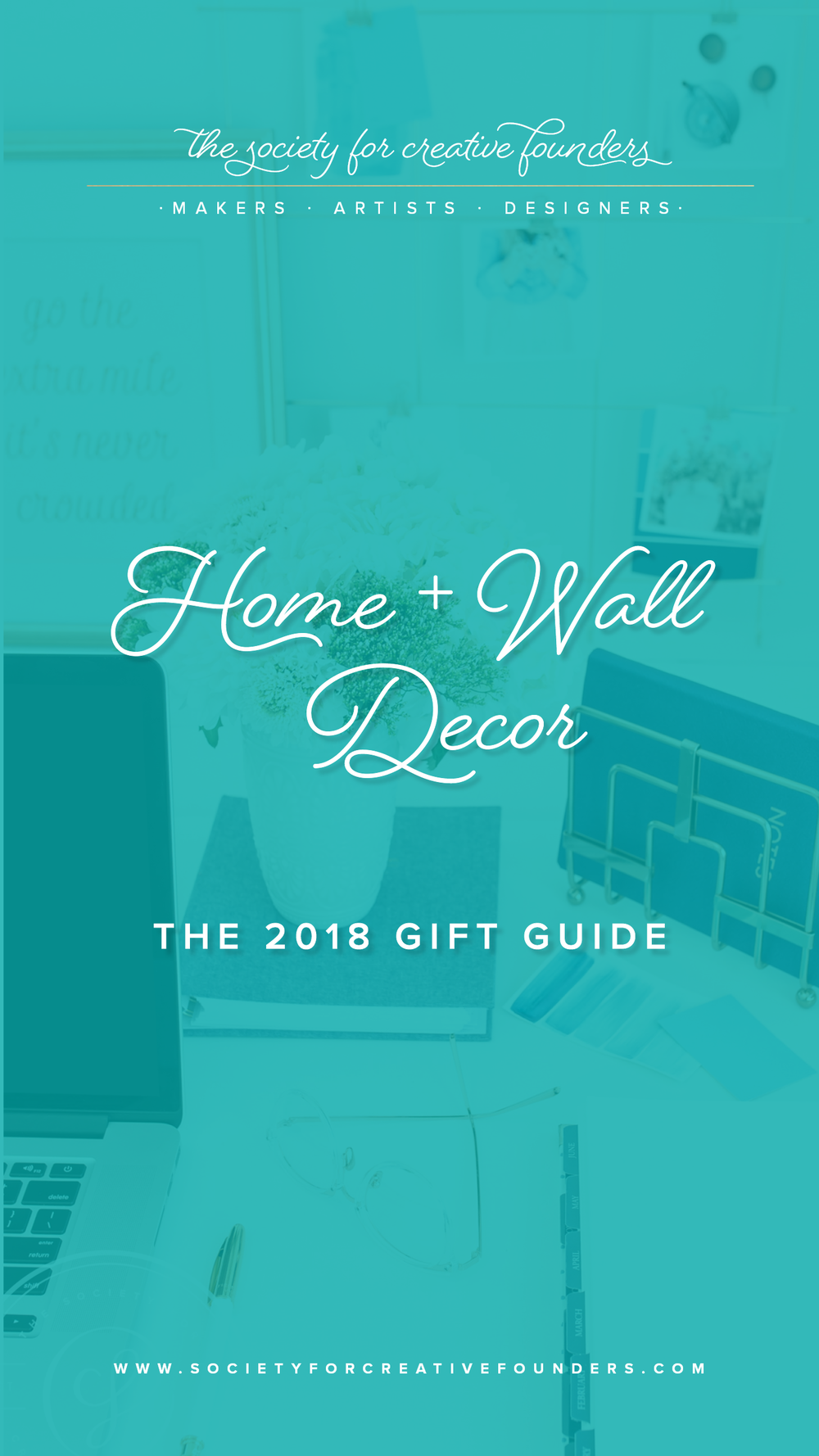 Home and Wall Decor - Creative Founders 2018 Gift Guide